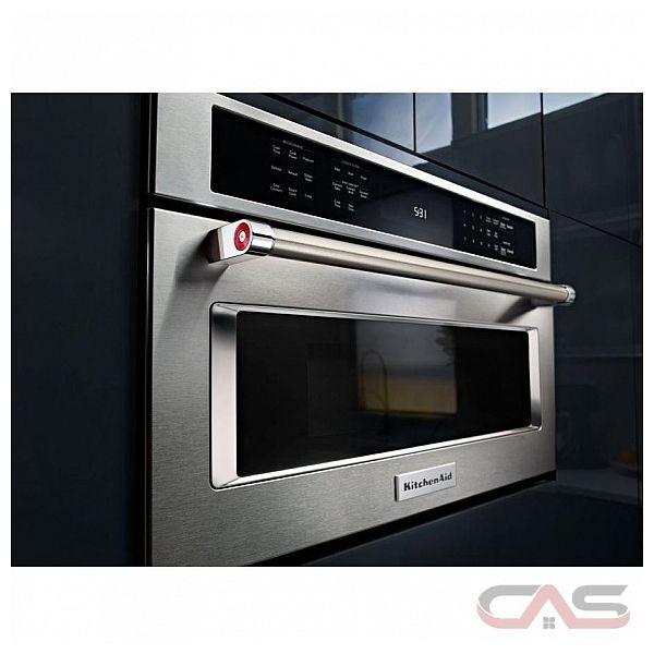kitchenaid kmbp107ess microwave canada - best price