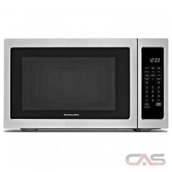 Countertop Kitchenaid Microwave : KitchenAid KCMC1575BSS Countertop Microwave, 21 3/4