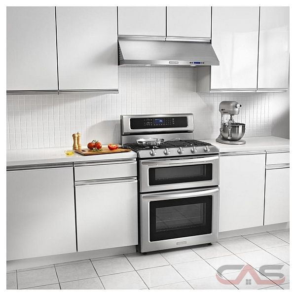 Kitchen Aid KXU4236YSS Under The Cabinet Hood 36in With 600 CFM And