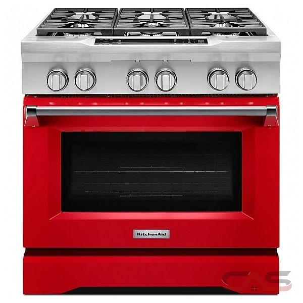 KitchenAid KDRS467VSD Range Dual Fuel Range 36 inch