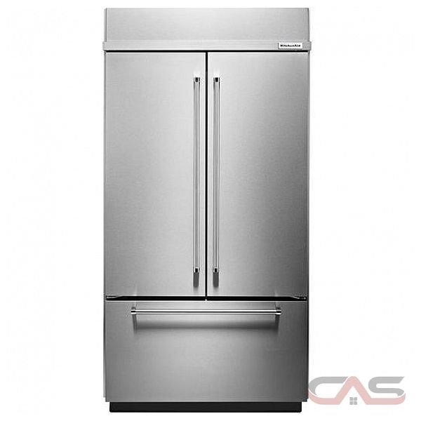 kitchenaid kbfn402ess french door refrigerator 42 width