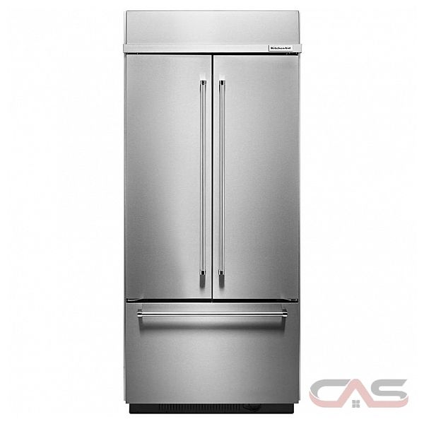 kitchenaid kbfn406ess french door refrigerator 36 width freezer