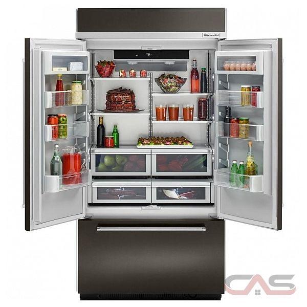 Kitchenaid Kbfn502ebs Refrigerator Canada Best Price