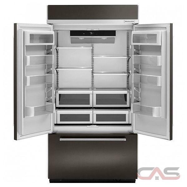 Kitchenaid Kbfn502ebs Bs 24 2 Cuft Black Stainless Steel 3: KitchenAid KBFN502EBS Refrigerator Canada