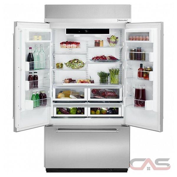 Kitchen Aid Refrigator  Built In Specs
