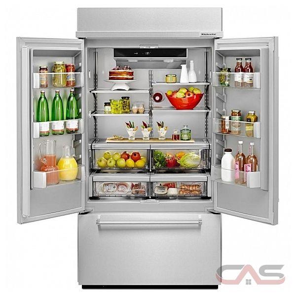 Kbfn502ess Kitchenaid Refrigerator Canada Best Price