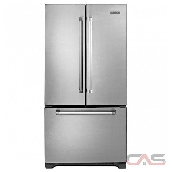 Kitchen Aid KFCP22EXMP Counter Depth French Door Refrigerator, 36in ...
