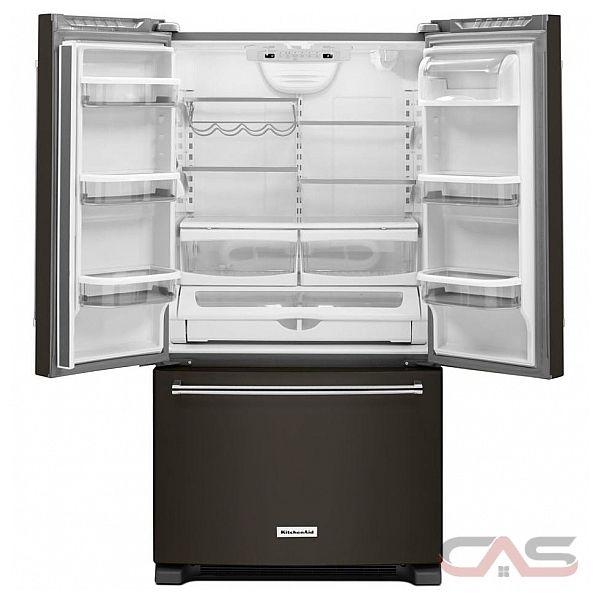 kitchenaid krfc300ebs french door refrigerator 36 width freezer
