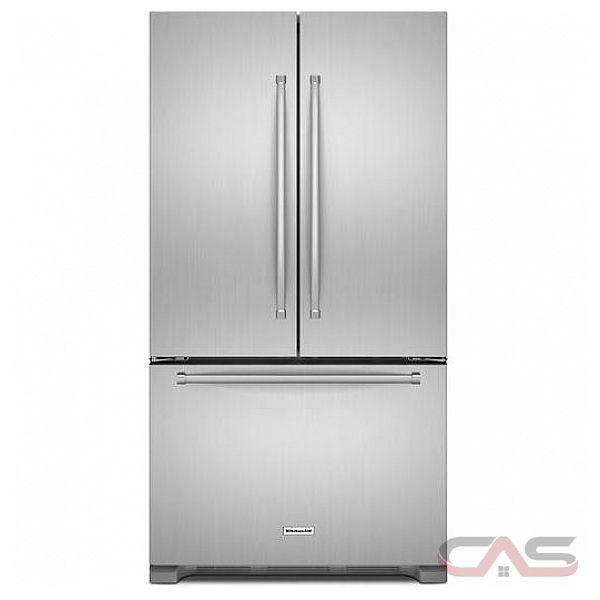 Krfc300ebs Kitchenaid 20 Cu Ft 36 Width Counter Depth: KRFC300ESS KitchenAid Refrigerator Canada