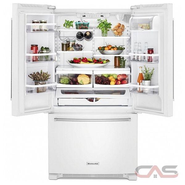 Krfc300ewh Kitchenaid Refrigerator Canada Best Price