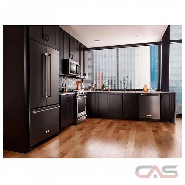 Kitchenaid Krfc302ebs French Door Refrigerator 36 Quot Width
