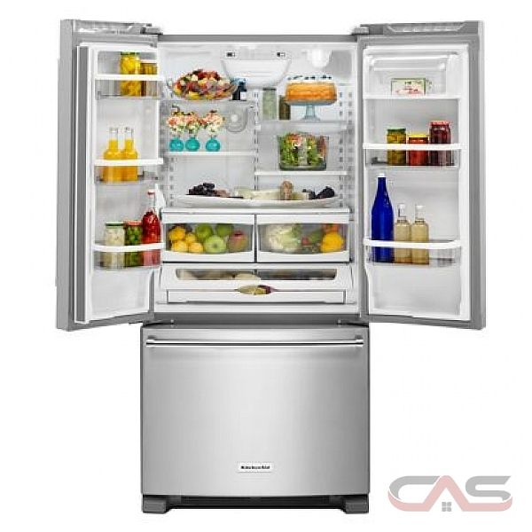 Kitchenaid 30 19 7 Cu Ft French Door Refrigerator With: KitchenAid KRFF300EBL Refrigerator Canada
