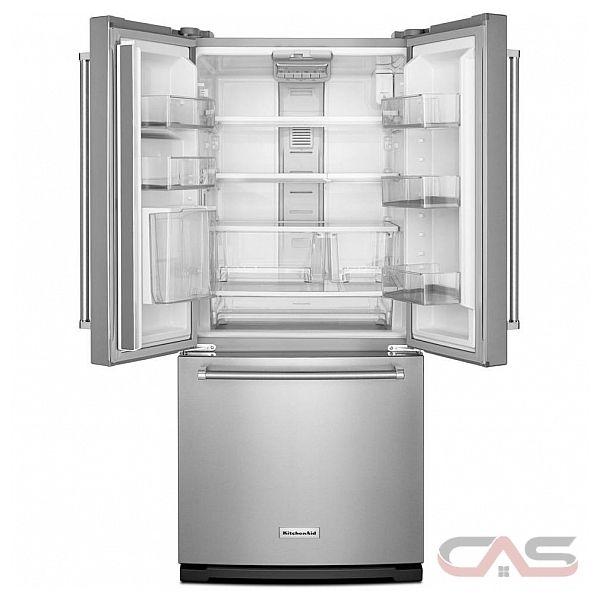 Krff300ewh Kitchenaid Refrigerator Canada Best Price