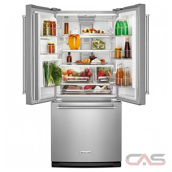 Krff300ewh Kitchenaid Refrigerator Canada Best Price