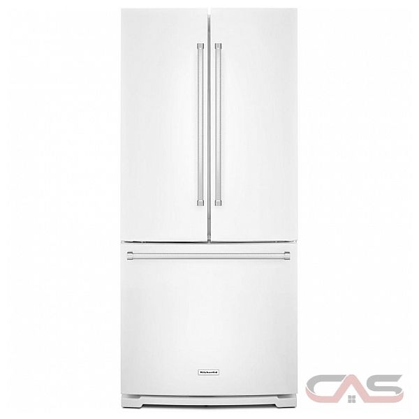 Kitchenaid 30 19 7 Cu Ft French Door Refrigerator With: KRFF300EWH KitchenAid Refrigerator Canada