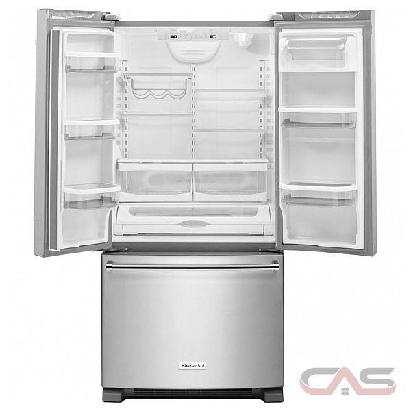 Kitchenaid Krff302ewh Refrigerator Canada Best Price
