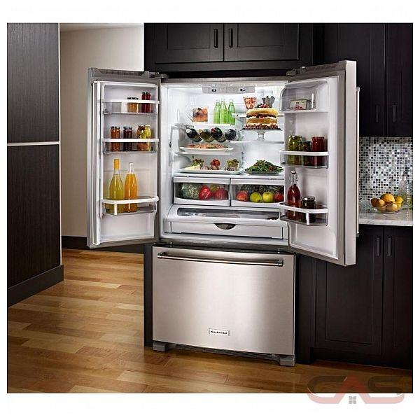 kitchenaid krff305ess refrigerator canada - best price