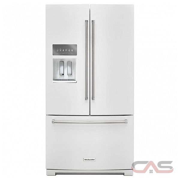 Krff507ewh Kitchenaid Refrigerator Canada Best Price