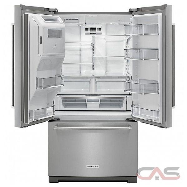 Krff507ewh Kitchenaid Refrigerator Canada Best Price