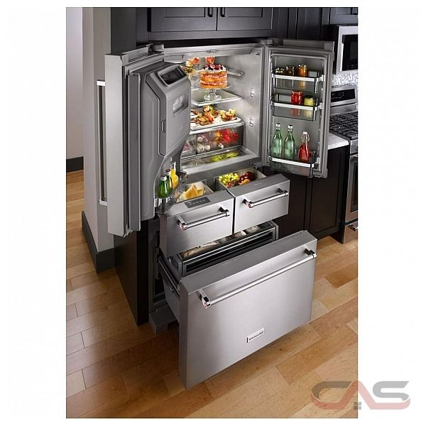 Kitchenaid Krmf706ebs Refrigerator Canada Best Price Reviews And Specs