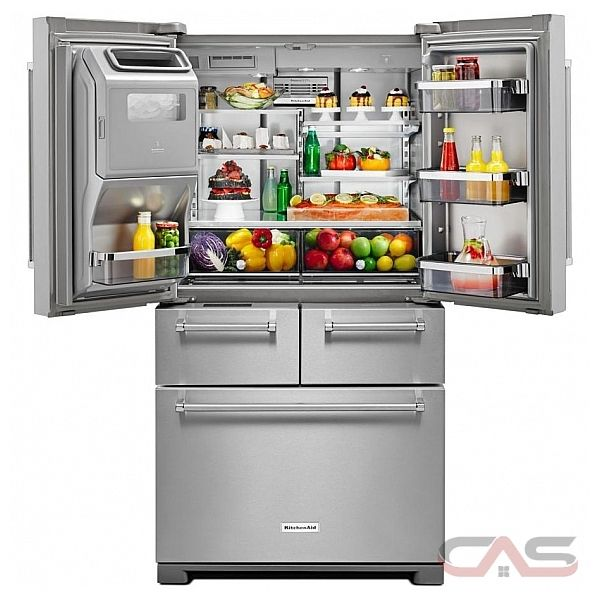 Kitchenaid Krmf706ebs Refrigerator Canada Best Price