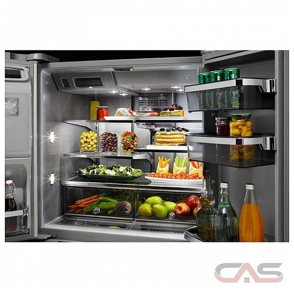 Kitchenaid Krff305ebs 25 2 Cu Ft French Door Refrigerator: KRMF706EBS KitchenAid Refrigerator Canada