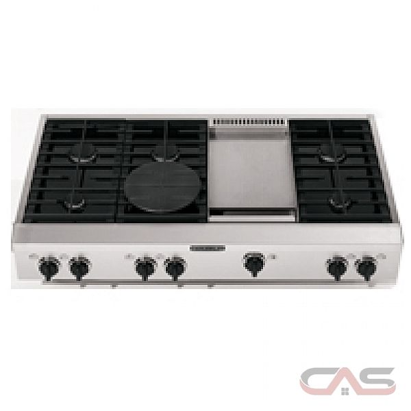 kitchenaid architect series kgcp483kss 48 gas cooktop 8 burners