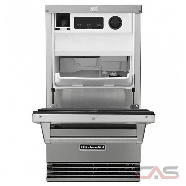 Kitchen Aid Ice Maker: KitchenAid KUIO18NNZS Refrigerator Canada