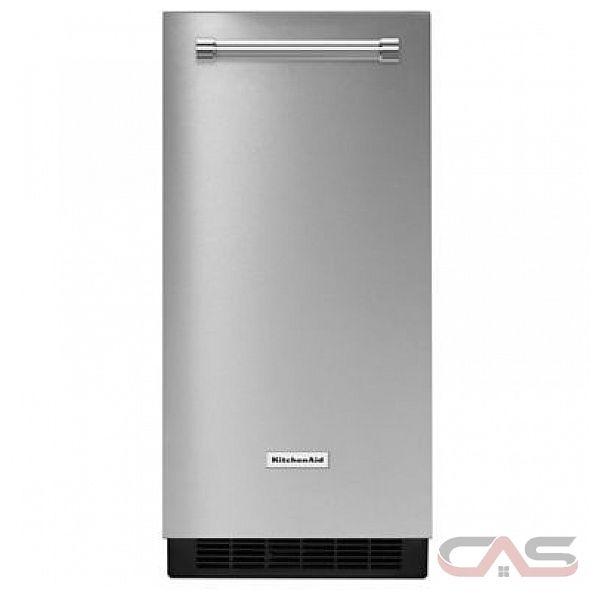machine gla on kitchenaid kuix305ess frigo 14 7 8. Black Bedroom Furniture Sets. Home Design Ideas