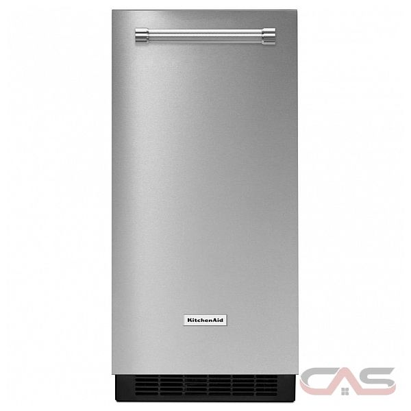 machine gla on kitchenaid kuix305ewh frigo 14 7 8. Black Bedroom Furniture Sets. Home Design Ideas