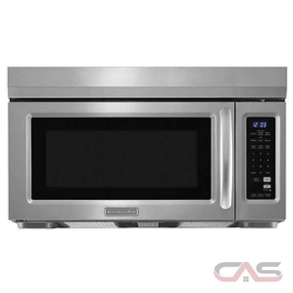 below kitchenaid over the range microwave October The