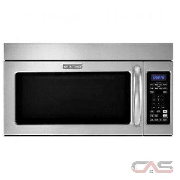 Kitchenaid Black Microwave: KitchenAid YKHMS2040WS Microwave Canada