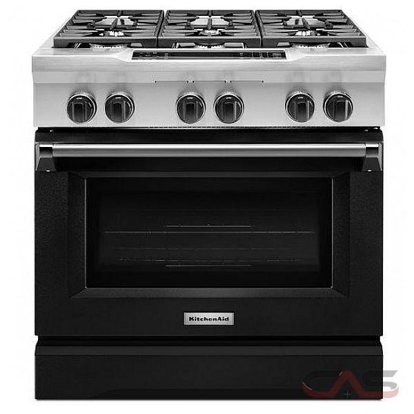 kitchenaid kdrs467vbk range dual fuel range 36 inch self clean convection 6 burners sealed. Black Bedroom Furniture Sets. Home Design Ideas