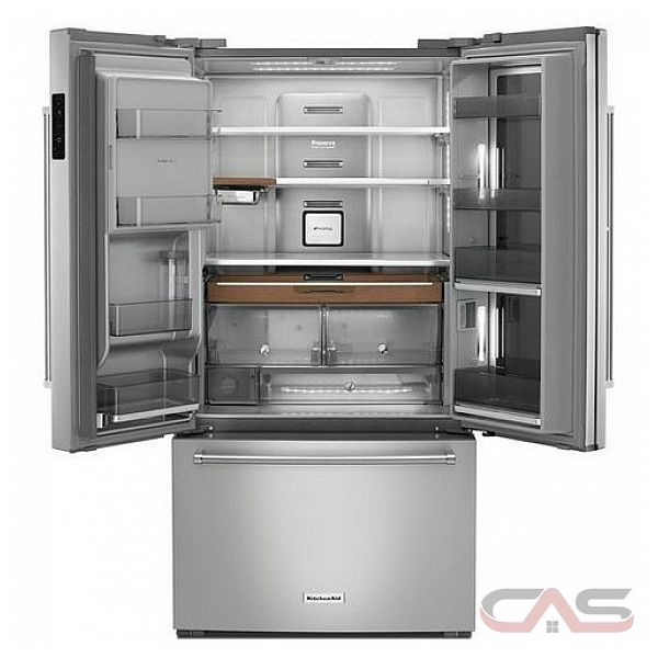 Kitchenaid Krfc804gps Refrigerator Canada Best Price