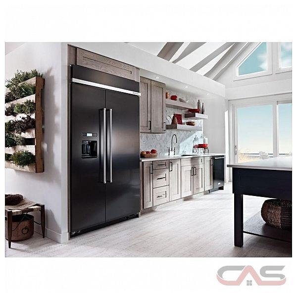 Kitchenaid Kbsd608ebs 29 5 Cuft Black Stainless Steel 2: KitchenAid KBSD608EBS Refrigerator Canada