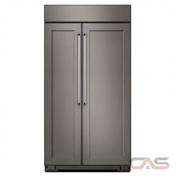 r frig rateur c te c te kitchenaid kbsn608epa frigo 48 groupe de largeur distributeur sur. Black Bedroom Furniture Sets. Home Design Ideas