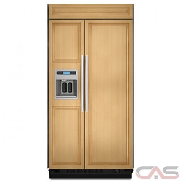 kitchen aid ksso48qtx built in side by side refrigerator