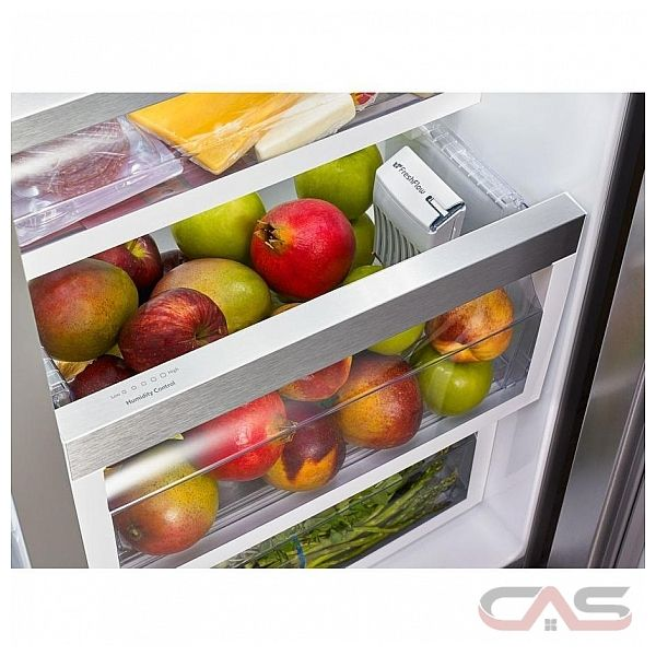 Kitchenaid Krsc500ess Side By Side Refrigerator 36 Quot Width