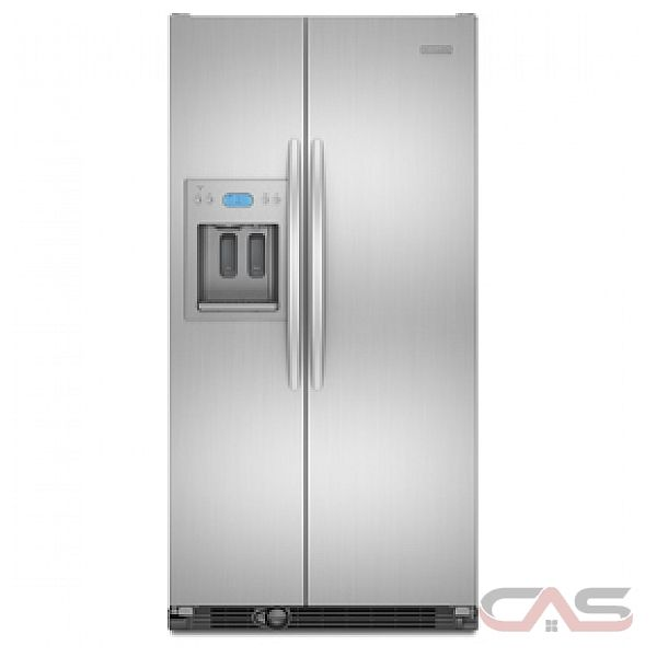 kitchen aid kscs25fvmk counter depth side by side refrigerator 36in