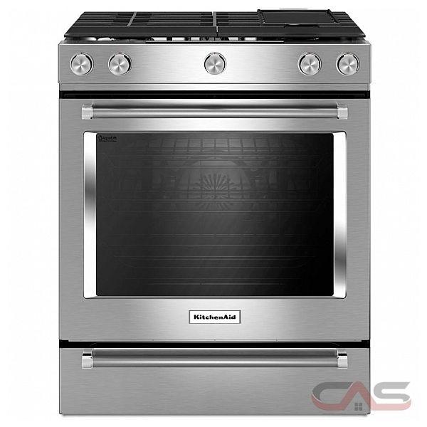 KitchenAid YKSDB900ESS Range, Dual Fuel Range, 30 inch, Self Clean, Convectio -> Kitchenaid Oven