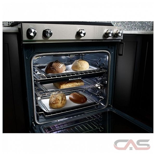 KitchenAid YKSDB900ESS Range Dual Fuel Range 30 inch