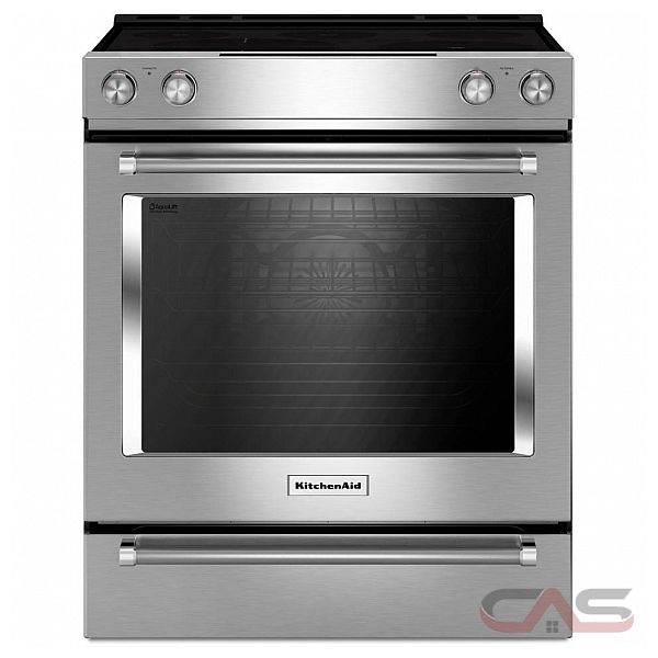 kitchenaid ykseb900ewh range electric range 30 inch self clean