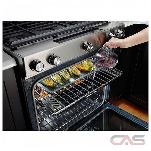 Kitchenaid ksgb900ess range canada best price reviews and specs - Kitchenaid slide in range reviews ...