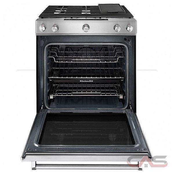 Kitchenaid ksgb900ewh range canada best price reviews and specs - Kitchenaid slide in range reviews ...