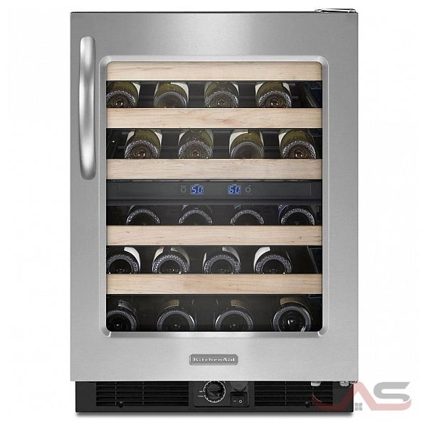 Best Wine Coolers >> KUWS24RSBS KitchenAid Refrigerator Canada - Best Price, Reviews and Specs - Toronto, Ottawa ...