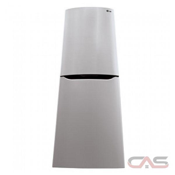 Lg Lbn10551pv Bottom Mount Refrigerator 24 Quot Width Energy