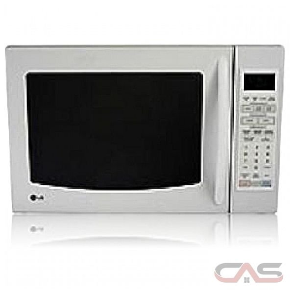 Countertop Convection Microwave With Trim Kit : LG LMC1541SW Countertop microwave, 22 5/8 in, 1.5 cu ft, 1000W ...
