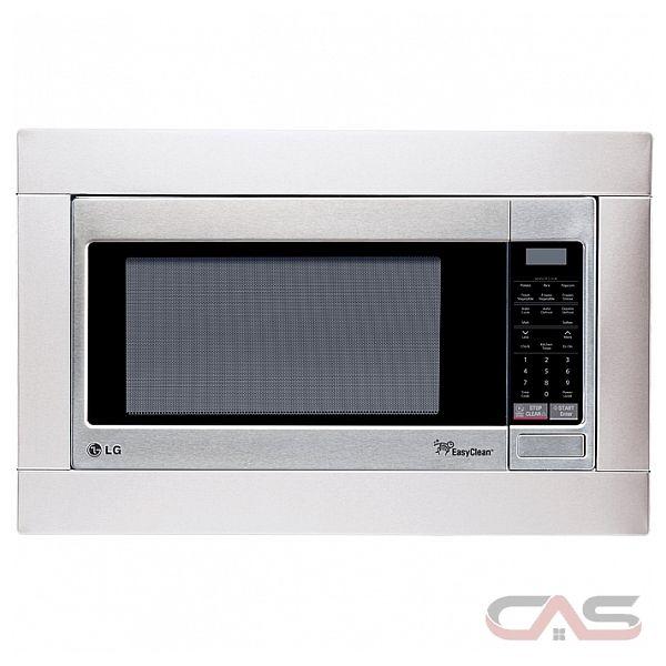 Countertop Microwave Lg : LG LMC2055ST Countertop Microwave, 23 7/8