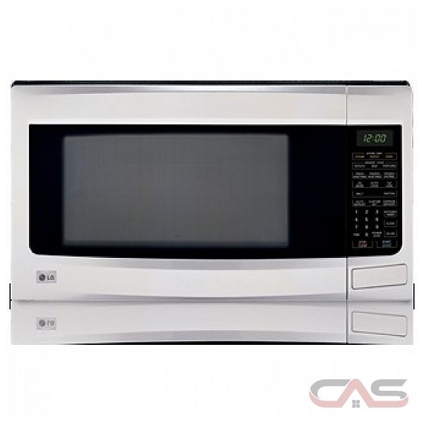 LG LMS1273SS Countertop Microwave, 21 7/8 in, 1.2 cu.ft, with 1100W ...