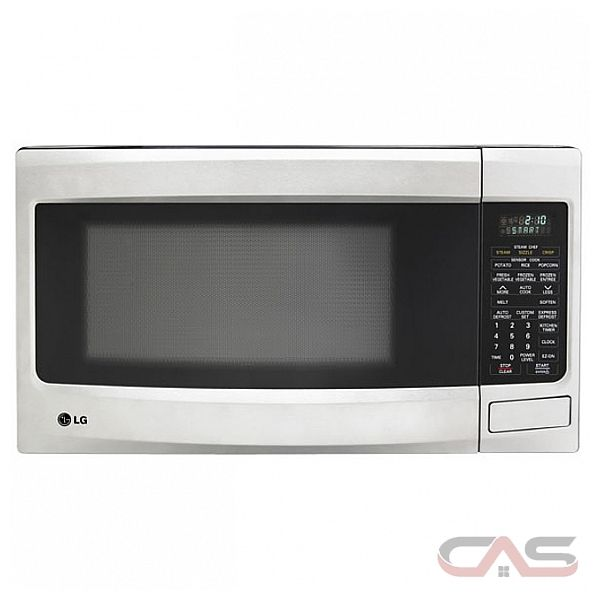Lg Countertop Microwave Reviews : LG LMS1573SS Countertop Microwave, 21 7/8 in, 1.5 cu.ft, with Sensor ...